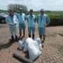 徳富川ラブリバー推進協議会河川清掃に参加しました