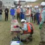 十勝川水質事故対策訓練で、油類や未知物質の対策講義を行いました