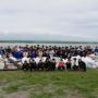 池田高等学校及び地域住民等と連携した清掃活動及び不法投棄啓発活動